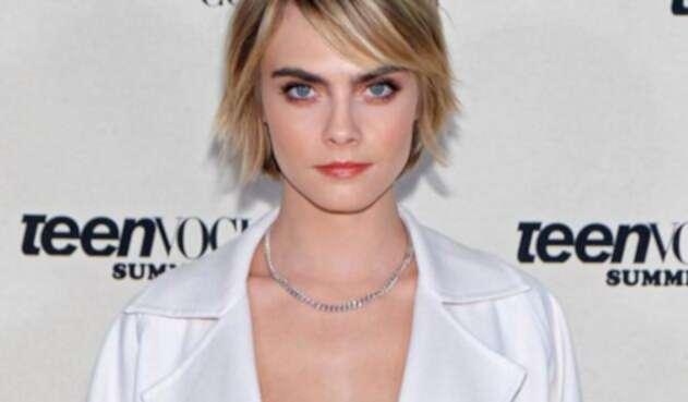 La modelo imitó al recordado personaje de la cinta 'El Señor de los anillos'