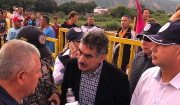 Carlos Pino, ciudadano venezolano expulsado de Colombia