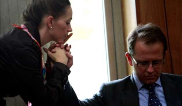 La senadora Paloma Valencia promoverá una iniciativa que beneficia directamente a Andrés Felipe Arias.