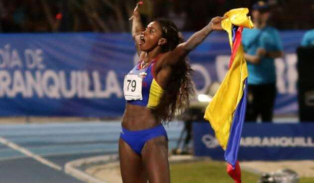 Caterine Ibargüen es una de las cinco finalistas al premio a Mejor Atleta Femenina del Año
