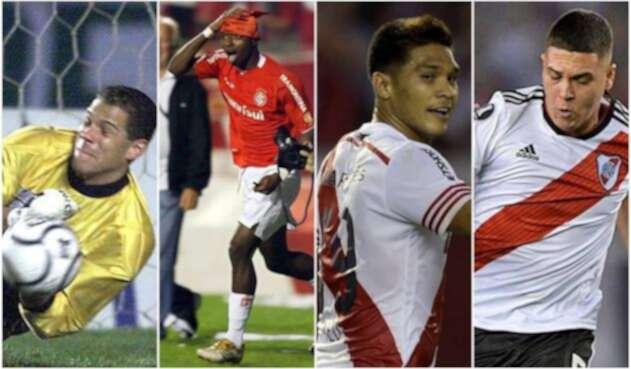 Colombianos campeones de Libertadores con clubes extranjeros