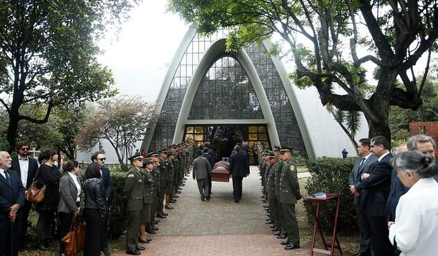 Funeral Belisario Betancur