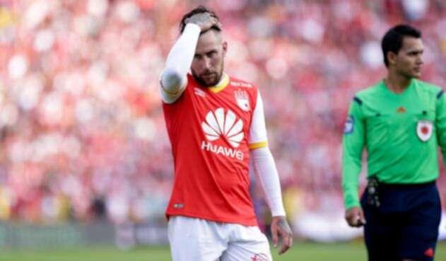 Jonathan Gómez, ex jugador de Santa Fe