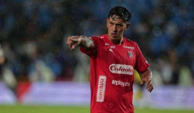 Germán Cano, delantero argentino