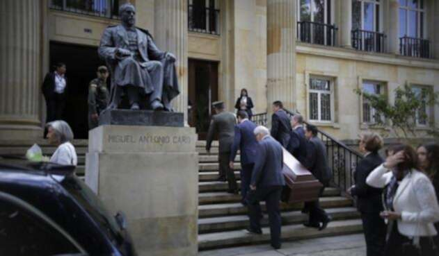 Funeral de Belisario Betancur