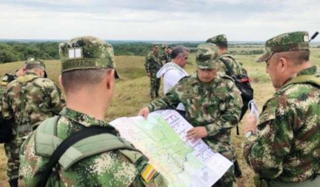 Fuerzas Militares en Mapiripán, Meta