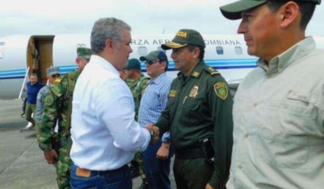 Presidente Iván Duque en Tumaco