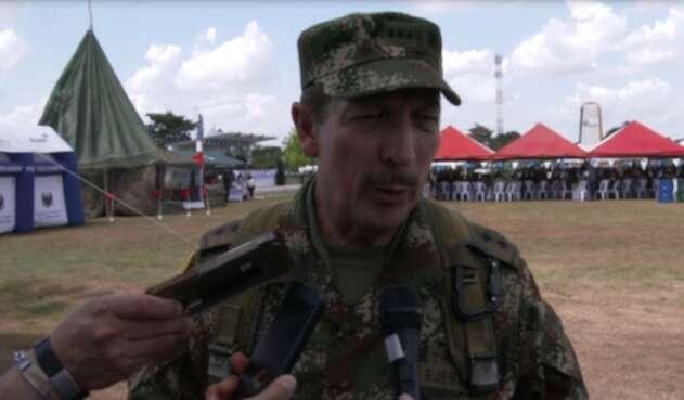 Nicacio Martínez, comandante del Ejército Nacional en su balance del operativo que dio con la muerte de alias Guacho.