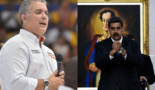El presidente de Colombia, Iván Duque, tomó medidas contra Nicolás Maduro.