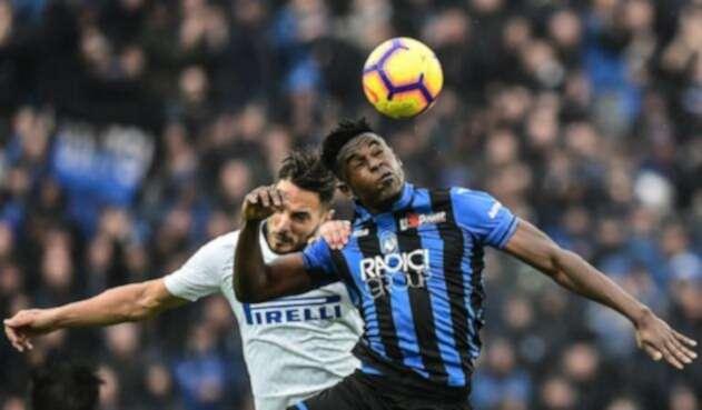 Duván Zapata suma cuatro partidos marcando de forma consecutiva en Italia