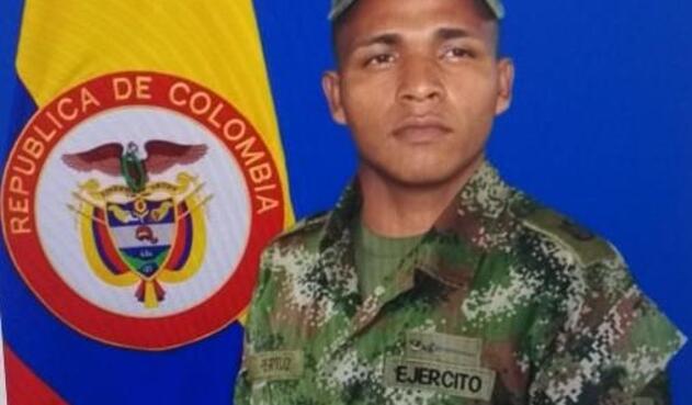 Walter Pertúz Gómez, soldado profesional asesinado en Catatumbo por el ELN