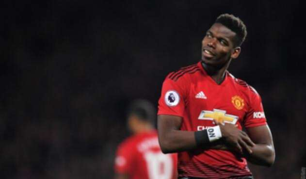 Paul Pogba, volante francés del Manchester United