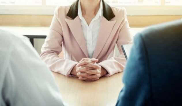 Imagen ilustrativa sobre una entrevista de trabajo
