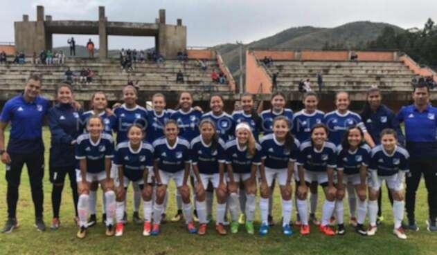 Millonarios y su equipo femenino para la Liga del próximo año