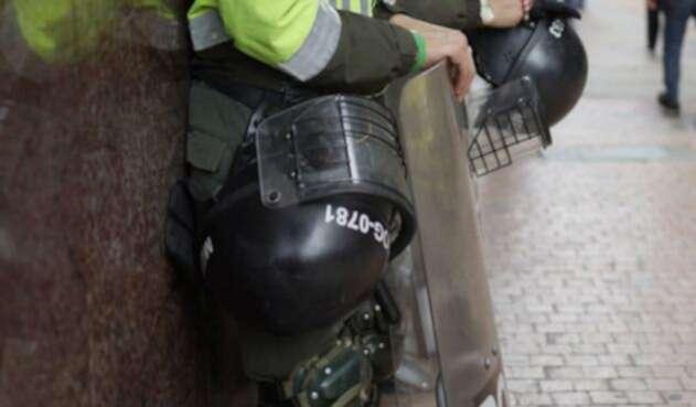 Durante las marchas se presentaron enfrentamientos entre estudiantes y el ESMAD