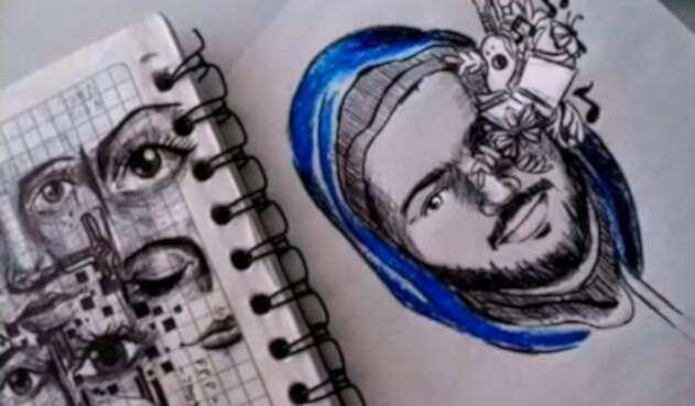 El tributo hecho por Unees Cauca al estudiante Esteban Mosquera