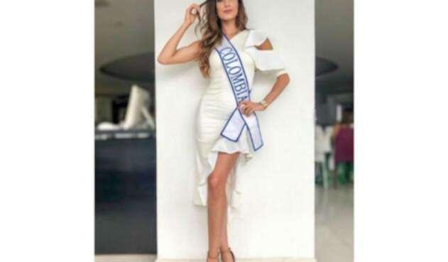 Gabriela Tafur, Señorita Colombia 2018 - 2019