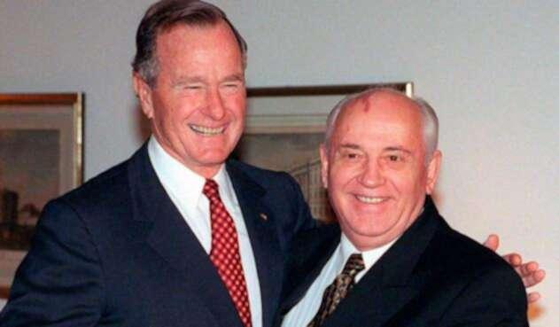 George H.W. Bush y Mijaíl Gorbachov fueron claves para el fin de la guerra fría