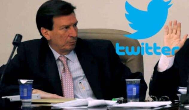 Gilberto Orozco es en Twitter muy duquista