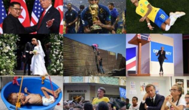 Los hechos que marcaron el mundo en 2018