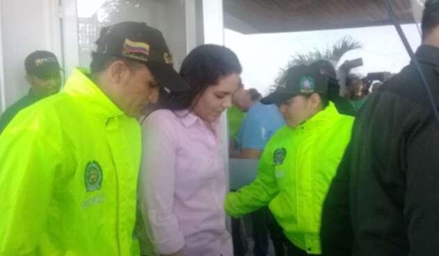 Joven samaria rescatada en Magdalena