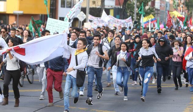 Marchas estudiantiles 13 de diciembre de 2018
