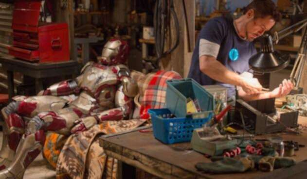 Escena de Iron Man 3