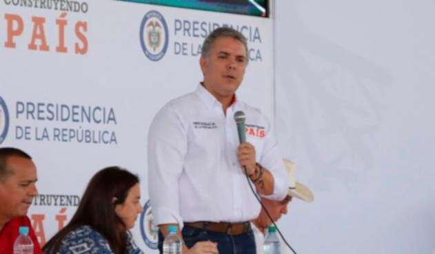 El presidente Iván Duque en Guaviare
