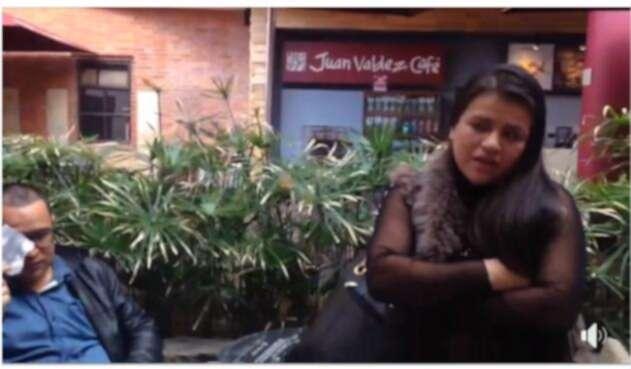 Así fue el comportamiento descarado de unos ladrones descarados en Bogotá