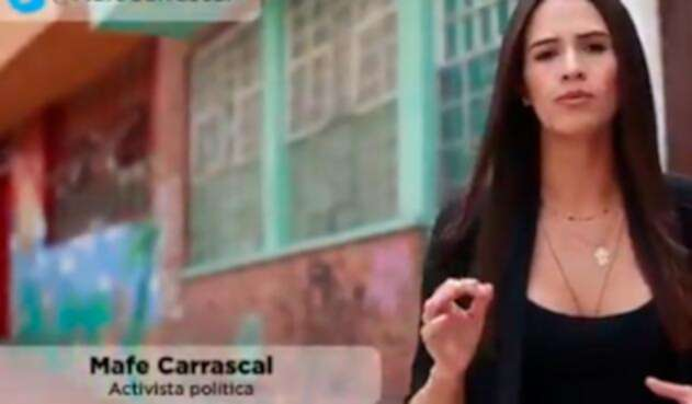 Mafe Carrascal, periodista, twittera, activista política