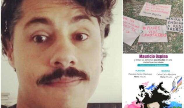Mauricio Ospina, el diseñador gráfico asesinado en Medellín