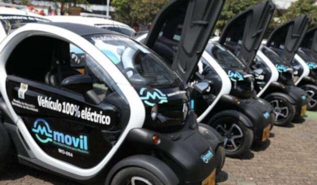 Los vehículos eléctricos presentados por la Alcaldía de Medellín