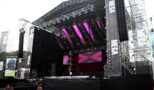 El evento musical se llevó a cabo en el Parque Simón Bolívar