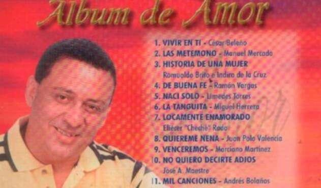 Miguel Herrera, cantante de vallenatos