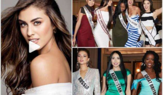 Candidatas a Miss Universo 2018