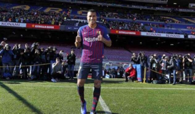 Jeison Murillo, jugador del Barcelona