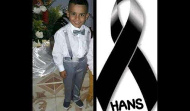 Hans, niño desaparecido en Caldas