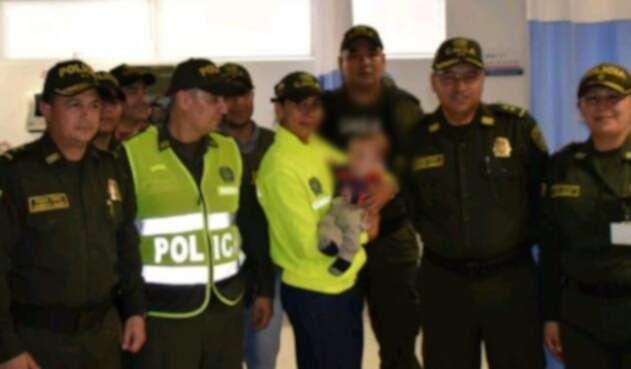 Menor rescatado de Soacha