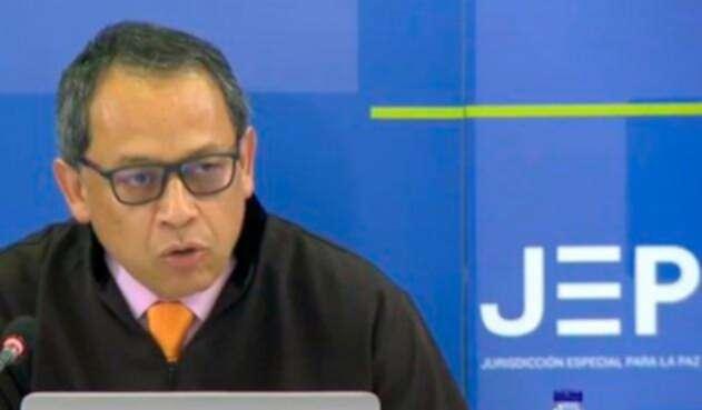 Pedro Díaz Romero, magistrado de la JEP