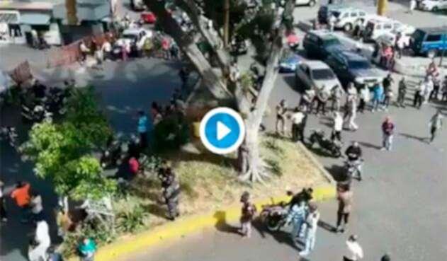 Las protestas en Venezuela por la falta de pernil
