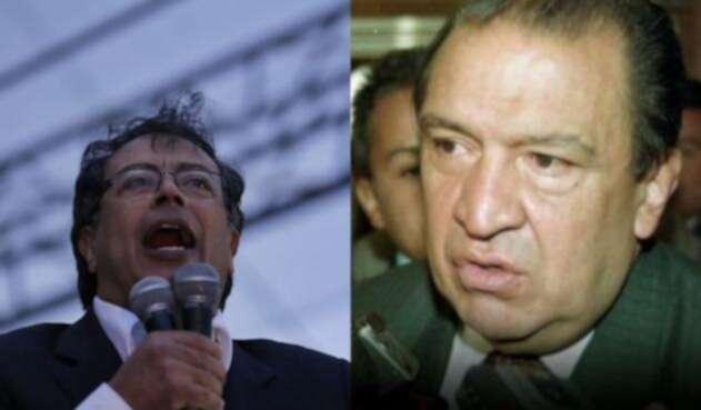 Gustavo Petro y Gabriel Camargo