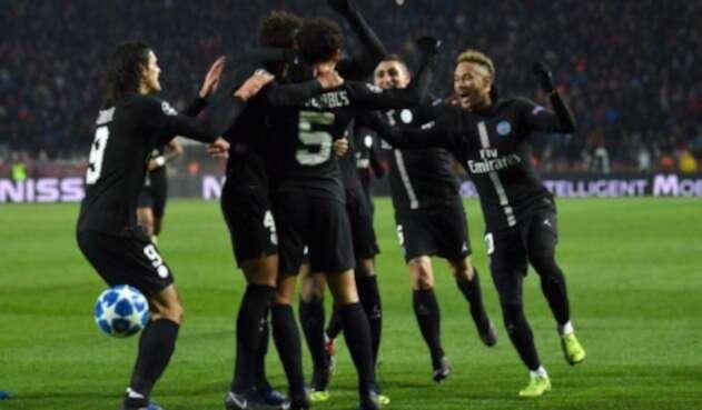 Jugadores del Paris Saint Germain