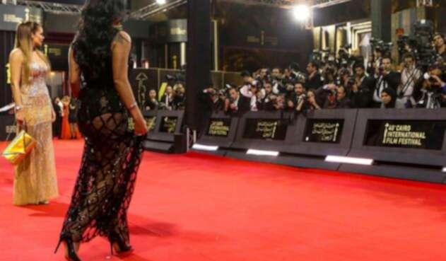La actriz egipcia RaniaYoussef, protagonista del escándalo en su país