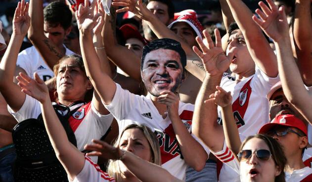Celebración de River Plate