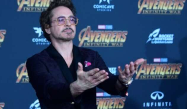 El actor Robert Downey Jr.