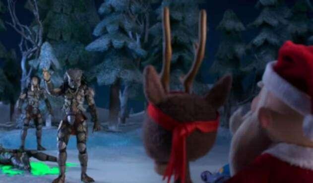 Santa Vs Depredador