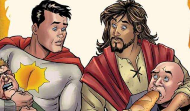Jesucristo, nuevo súper héroe.