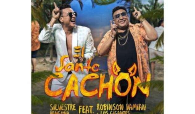 Silvestre Dangond y Robinson Damián en nueva versión del 'Santo Cachón'