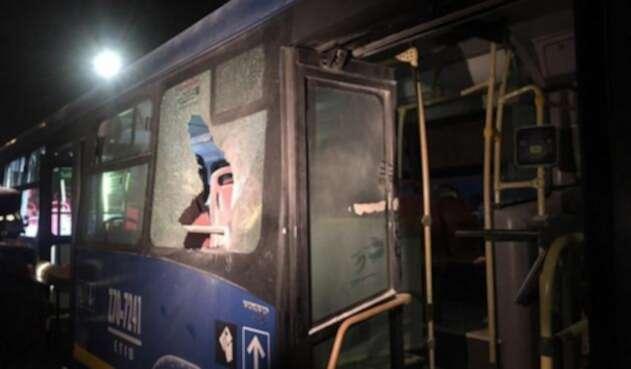 Ataque a bus del SITP en Kennedy