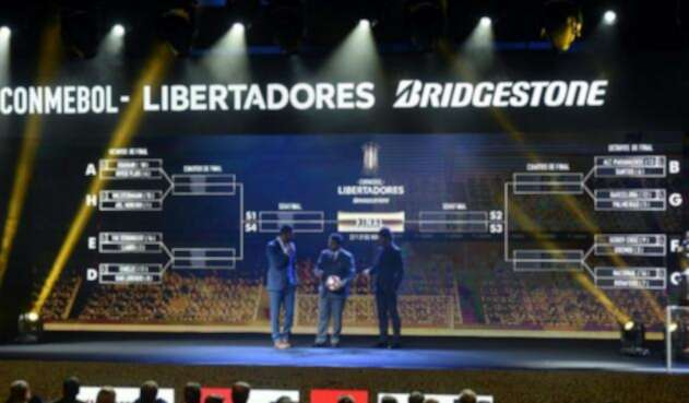 Sorteo Copa Libertadores y Sudamericana
